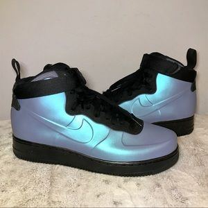🆕NWT Nike Air Force 1 Foamposite Cup Light Carbon